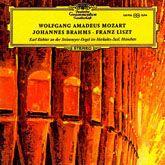 Copertina dell'LP delle composizioni per organo di Mozart, Brahms e Liszt
