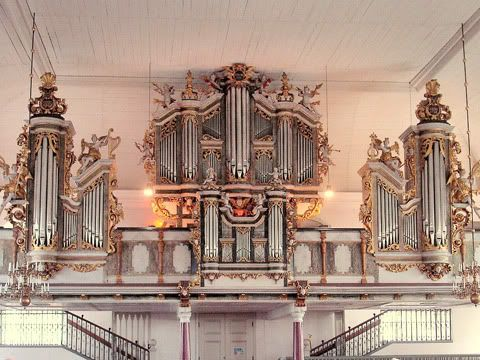 Organo Cahman della chiesa di Lövstabruk